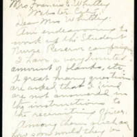 Correspondence of state women's organizations part 2, 1917-1919