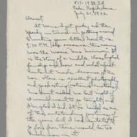 1942-07-21 Laura Davis to Lloyd Davis Page 1