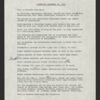 "1973-12-14 Ernesto Rodriguez transcript for """"Viewpoint"""""
