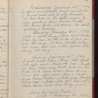 "Page 75 Written by Mahaska """"Hattie"""" Byington Whetstone from I.B. Reed notebook entry"