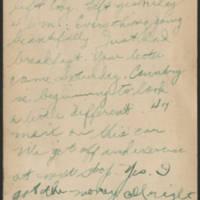 1918-08-26 Thomas Messenger to Mrs. N.H. Messenger Postcard - back