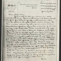 1944-06-30 M/Sgt. John W. Graham to Mr. & Mrs. W.J. Graham Page 1