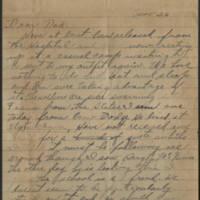 1918-06-26 Harvey Wertz to Mr. L.A. Wertz Page 1