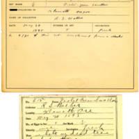 Thomas Wilmer Dewing, egg card # 498