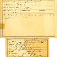 Thomas Wilmer Dewing, egg card # 027
