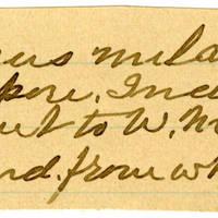 Clinton Mellen Jones, egg card # 204