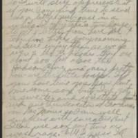 1917-11-16 Harvey Wertz to Miss Dorothy Wertz Page 2