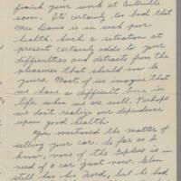 1942-01-15 Maurice Hutchison to Laura Frances Davis Page 2