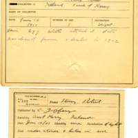 Thomas Wilmer Dewing, egg card # 064