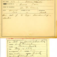 Thomas Wilmer Dewing, egg card # 804u
