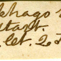 Clinton Mellen Jones, egg card # 382