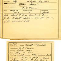 Thomas Wilmer Dewing, egg card # 371