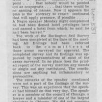 "1951-11-03 Burlington Hawkeye Gazette Letter: ""Self-Survey"""
