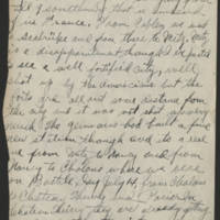 1919-02-22 Harvey Wertz to Mr. L.A. Wertz Page 2