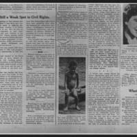 "Des Moines Register Article: ""Still a Weak Spot in Civil Rights"""