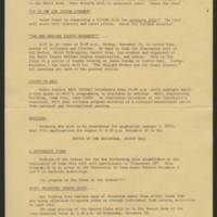 1969-11-19 Student Activities Bulletin Office of Student Affairs Page 2