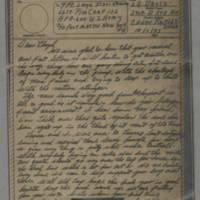 1943-10-01 Laura Davis to Lloyd Davis