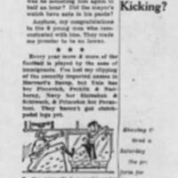 "1947-10-28 Des Moines Register Column, """"Over The Coffee"""" by Harlan Miller"