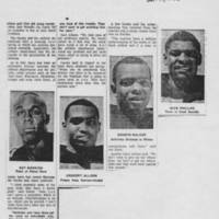 "1968-12-17 Daily Iowan Article: ""UI's Black Athletes -- Some Happy Here, Others Not"" Page 5"