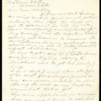 1918-09-21 Kate Mannic to Mrs. Whitley Page 1