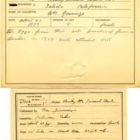 Thomas Wilmer Dewing, egg card # 255
