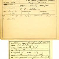 Thomas Wilmer Dewing, egg card # 718u