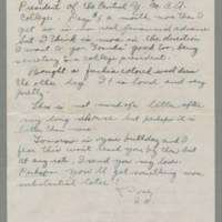 1942-10-21 Susie Hutchison to Laura Frances Davis Page 2
