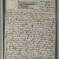1943-08-31 Laura Davis to Lloyd Davis