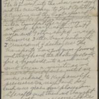 1917-10-18 Harvey Wertz to Mr. L.A. Wertz Page 2