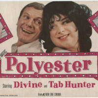 """Polyester"" Starring Devine and Tab Hunter"