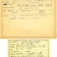 Thomas Wilmer Dewing, egg card # 096