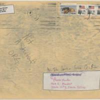 1983-03-04 Envelope: Ladies Against Women