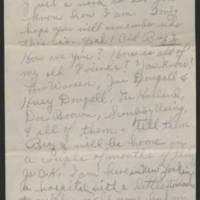 1945-06-13 Pvt. Buzz Richardson to Dave Elder Page 1