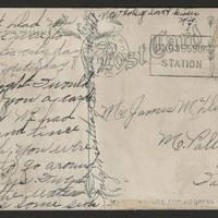 1917-08-24 Postcard - back