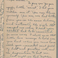 1918-08-21 Daphne Reynolds to Conger Reynolds Page 1