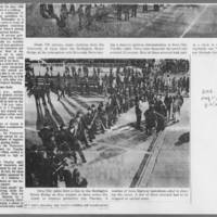 """1972-05-11 Des Moines Register Article: """"""""A Tense Night at Iowa City"""""""" Page 2"""