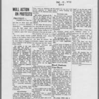 """1970-12-10 Des Moines Register Article: """"""""Protesters Block U of I Job Office"""""""" Page 2"""