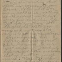1918-12-22 Thomas Messenger to Mrs. Ress Wade Messenger Page 3