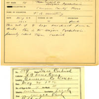 Thomas Wilmer Dewing, egg card # 482