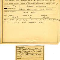 Thomas Wilmer Dewing, egg card # 319