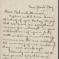 1918-01-01 Conger & Daphne Reynolds to Mr. & Mrs. John Reynolds Page 1