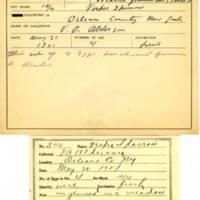 Thomas Wilmer Dewing, egg card # 719u