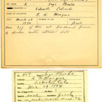 Thomas Wilmer Dewing, egg card # 351