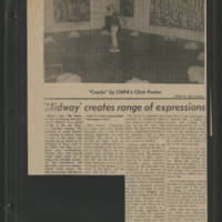 """""'Midway' creates range of expressions"""" by Shelley Shakas"