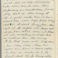 1942-08-01 Lloyd Davis to Laura Davis Page 2