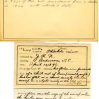 Thomas Wilmer Dewing, egg card # 171