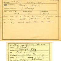 Thomas Wilmer Dewing, egg card # 144
