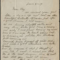 1916-06-04 John Reynolds to Conger Reynolds Page 1