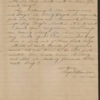1945-04-26 Pfc. Roger K Banks to Dave Elder Page 2
