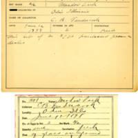 Thomas Wilmer Dewing, egg card # 407